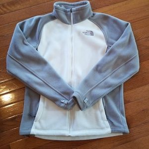 Women's north face full zip fleece